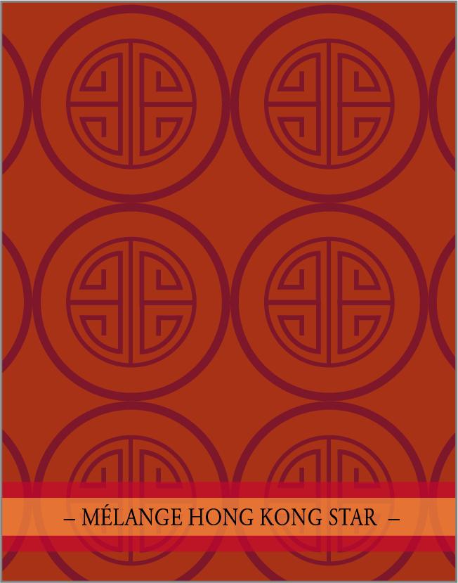Le mélange Hong Kong star pour l'huile piquante chinoise.