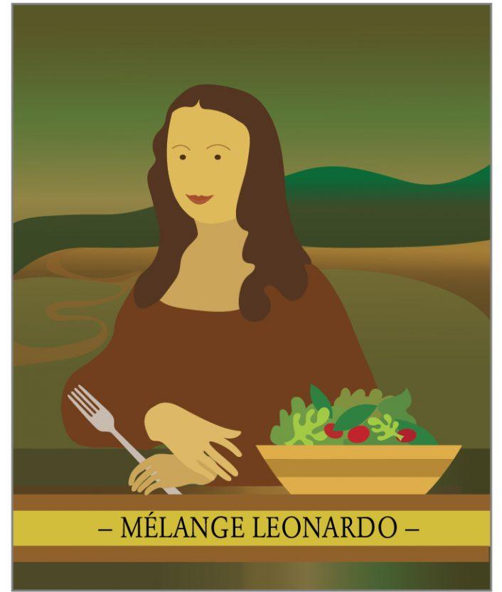 mélange d'épices Leonardo pour salade italienne