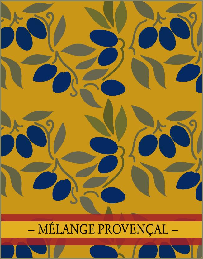 MÉLANGE PROVENÇAL. Un des  4 mélanges d'épices de la collection France.