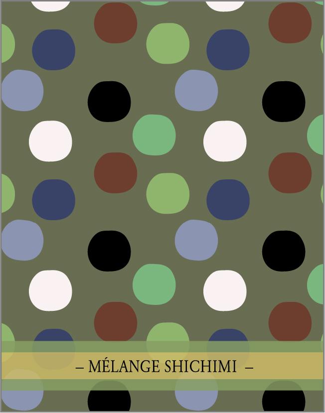 MÉLANGE SICHIMI. Un des  4 mélanges d'épices de la collection Japon par lasphereculinaire.ca
