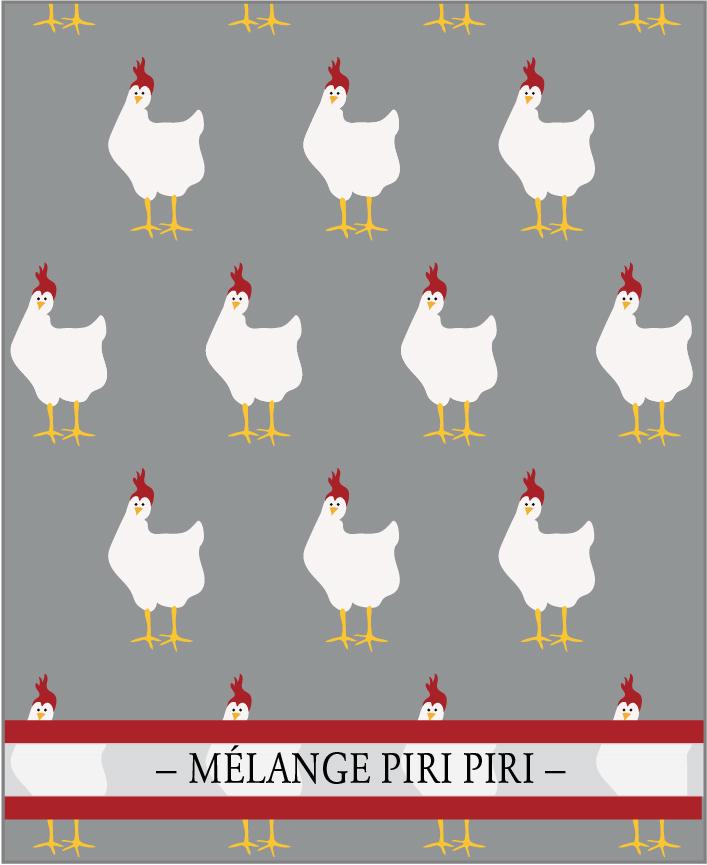 MÉLANGE PIRI PIRI. Un des 7 mélanges de la Collection Classique de lasphereculinaire.ca