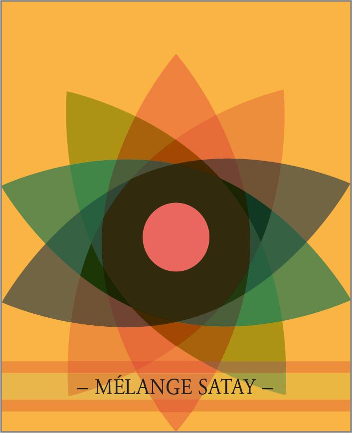 MÉLANGE SATAY. Un des 7 mélanges de la Collection Classique de lasphereculinaire.ca