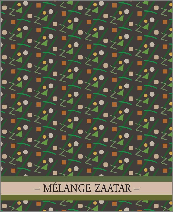 MÉLANGE ZAATAR. Un des 7 mélanges de la Collection Classique de lasphereculinaire.ca