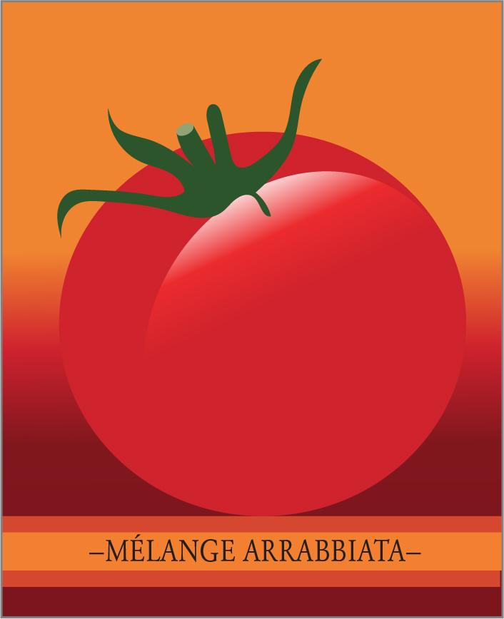 Le mélange arrabbiatta de la collection Italie pour la cuisine italienne. ID9708