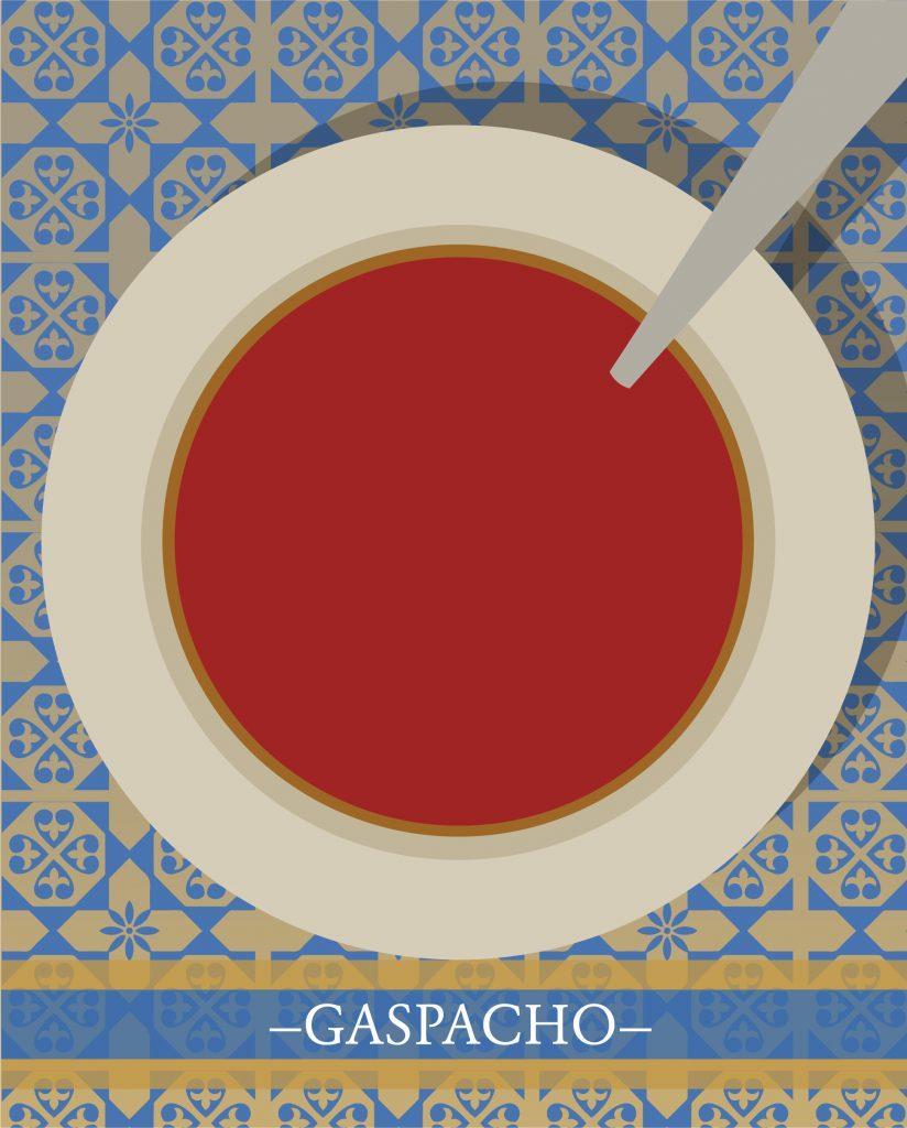 gaspacho, une des meilleures recettes du monde