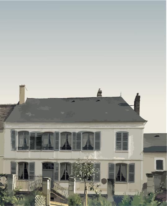 La maison d'enfance de Colette en Bourgogne