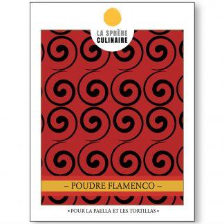 Poudre Flamenco, épices à paella