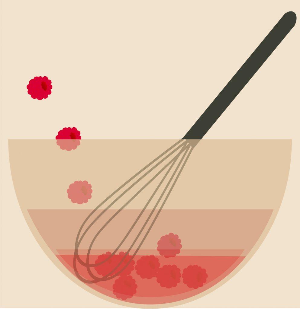vinaigrette à la framboise