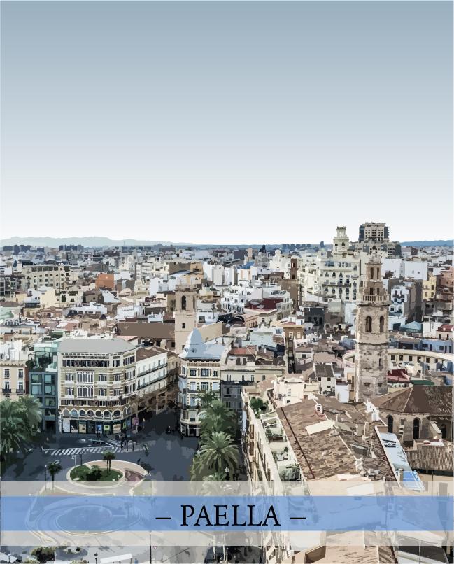 Recette du monde: Valence et sa paella