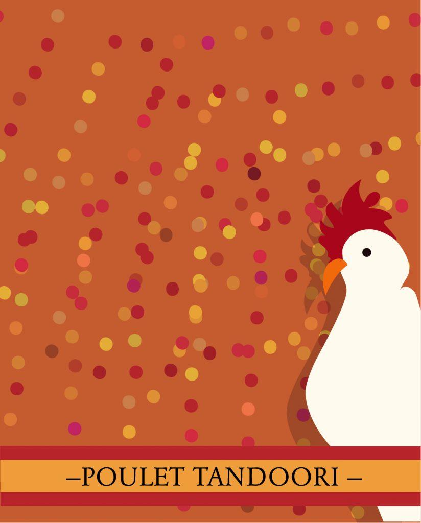 recette du monde: le poulet tandoori de Delhi